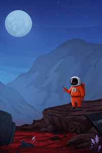 Little Astronaut 4k