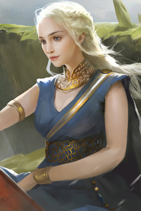 480x800 Little Dragon Daenerys Targayen