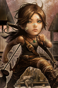 Little Lara Croft