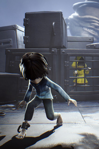 240x320 Little Nightmares Secrets Of The Maw