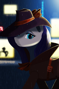 640x1136 Little Pony Detective