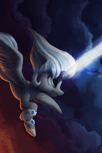 Little Pony With Powers