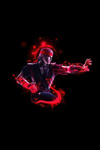 Liu Kang Mortal Kombat Minimal 5k