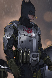 640x1136 Lo Fi Batman 4k