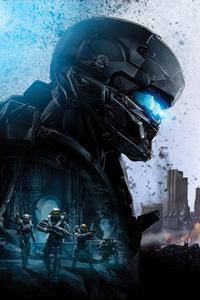Locke Halo 5 Guardians 8k