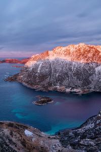 Lofoten Crag Norway 5k