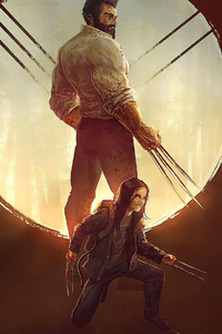 Logan And X23 Artwork