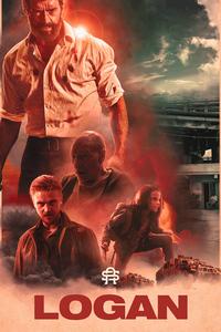 1080x1920 Logan Art Poster 4k