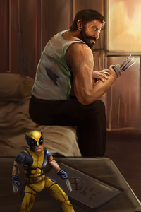 Logan Artwork 4k