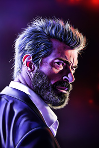 Logan Hugh Jackman Art