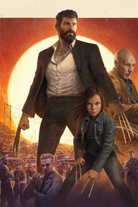 Logan Movie Imax Poster