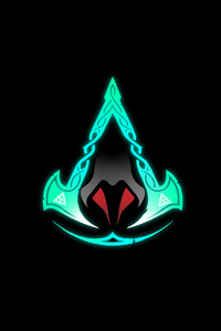 Logo Assassins Creed Valhalla 4k