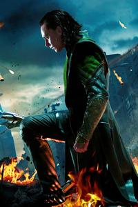 360x640 Loki Avengers