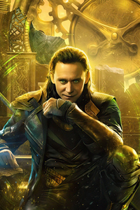 480x854 Loki The God Of Mischief