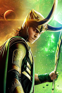 Loki The God Of Mischief Poster 5k