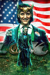 480x854 Loki Tv Series Poster