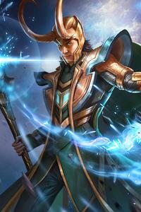 Loki Tvseries Fanart