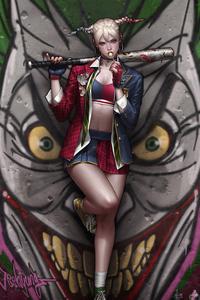 Lollipop Harley Quinn 4k