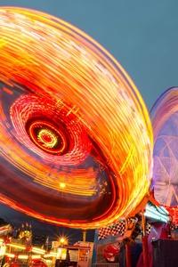 Long Exposure Amusement Park