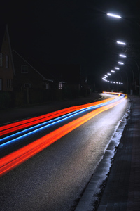 1125x2436 Long Exposure Road Photography