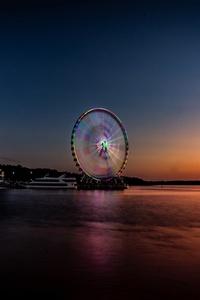 Longexposure Beautiful Ferris Wheel 5k