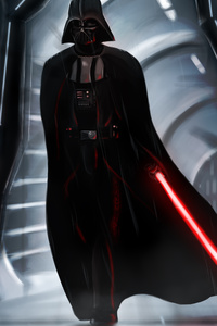 320x568 Lord Vader 4k