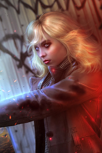 Lorraine Broughton Atomic Blonde Fictional Character Artwork