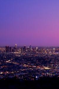 Los Angles City Sky 8k
