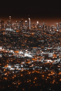 320x480 Los Angles Night View