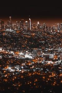 Los Angles Night View
