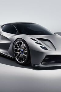 1280x2120 Lotus Evija 2019 Front View