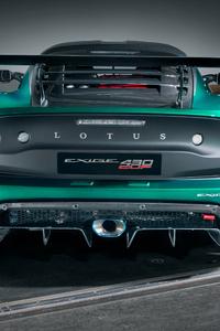 2160x3840 Lotus Exige Cup 430 2017 Rear