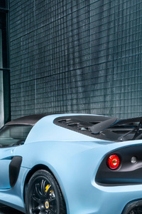 720x1280 Lotus Exige Sport 410 2018 Rear View