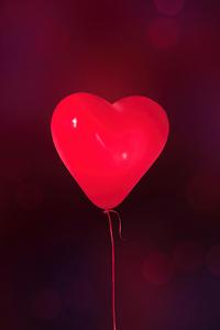 1242x2688 Love Balloon