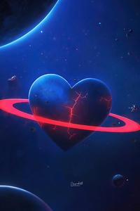 720x1280 Love Broken Planet
