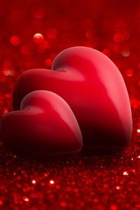 750x1334 Love Heart 4k