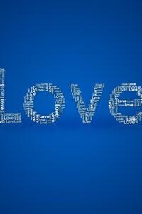 1242x2688 Love Simple Typography