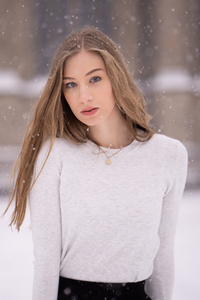 1440x2560 Lovely Girl Winter 5k