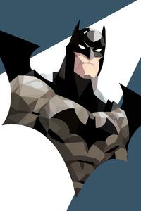 Low Poly Art Batman