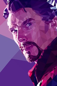 Low Poly Doctor Strange