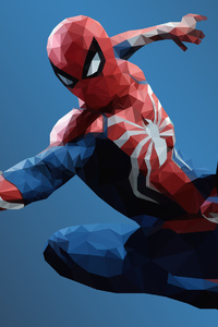 Low Poly Spiderman