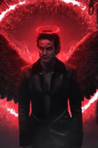 Lucifer Digital Art 4k