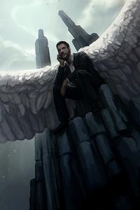 1125x2436 Lucifer Season 4 Fan Art