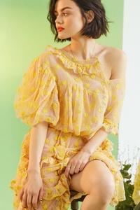 Lucy Hale Bustle 2017