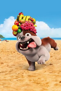 1125x2436 Luiz Bulldog In Rio Movie