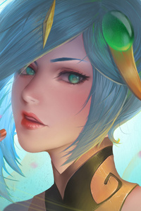 Lux League Of Legends Artwork