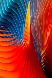 640x960 Mac OS Sierra Abstract Shapes