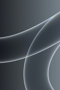 240x400 Macos Big Sur Abstract Grey Colour 5k
