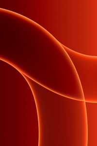 240x400 Macos Big Sur Abstract Red Art 5k