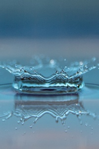 480x854 Macro Drop Of Water